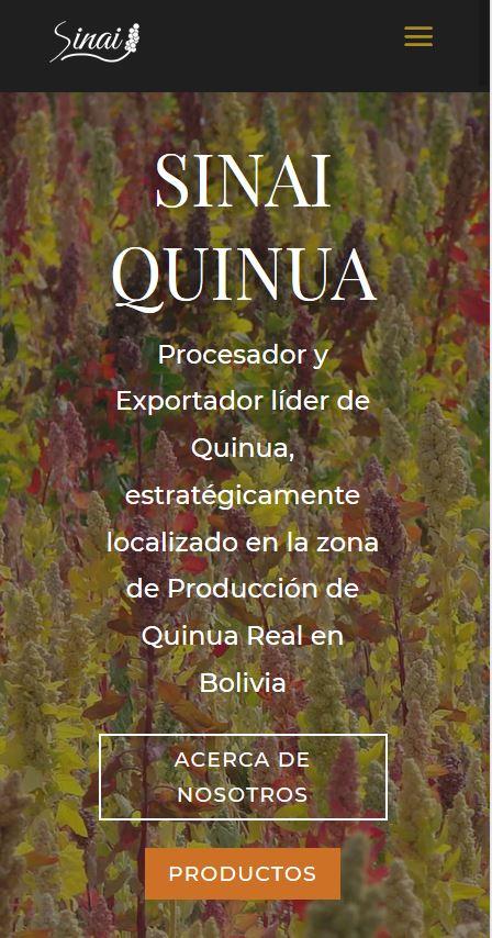 Sinai Quinoa - Home Mobile